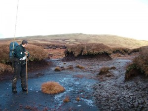 EIA Work on eroding bog
